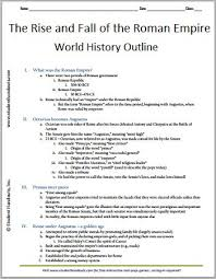 kid  free printables and the o    jays on pinterestrise and fall of the r  empire   free printable history outline for grades