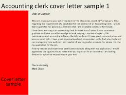accounting clerk cover letter   accounting clerk cover letter sample