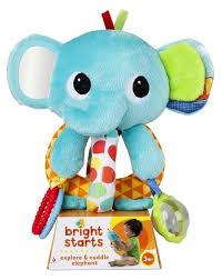 Прорезыватель-<b>погремушка Bright Starts</b> Ласковый слоник ...