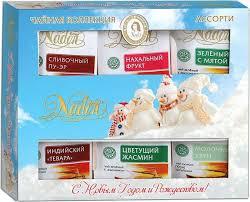 <b>Nadin Чайное ассорти</b>, <b>72</b> г (классический) — купить в интернет ...