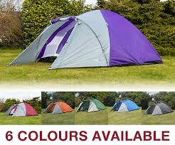 Adtrek <b>Double Skin Dome</b> 4 Man Berth Camping Festival Family <b>Tent</b>