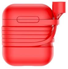Купить <b>Чехол Baseus для</b> AirPods красный по низкой цене с ...