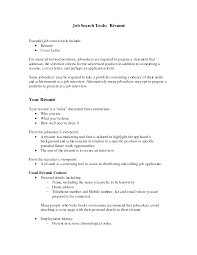 carrer objective resume