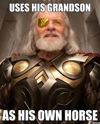 mine Thor loki Odin bad parenting odin youvebeen-loki-d • via Relatably.com