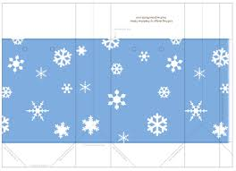 printable templates holiday snowflake gift tags treat and printable template christmas winter holiday small carrier gift bags snowflakes on blue sky
