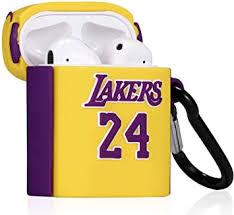 2020 Luxury <b>Fashion Case for AirPods</b> Yellow Basketball: Amazon ...