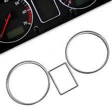 <b>Chrome Gauge</b> Rings for Skoda Octavia MK1 1U <b>Dash Dial</b> ...