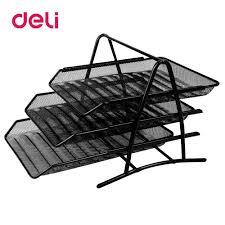 <b>Deli</b> File trays <b>three</b> layers <b>file box</b> data box office desk office ...