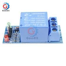 <b>2PCS</b>/Lot DC <b>5V 1 Channel</b> Low Level Trigger Relay Shield for ...