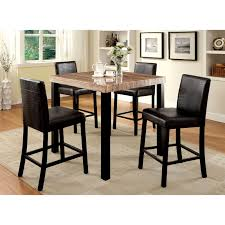 cherry counter height piece: powell brigham piece counter height dining table set cherry dining table sets at hayneedle