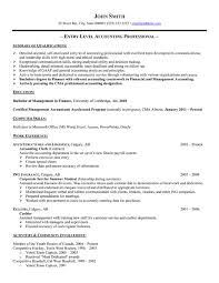 Breakupus Marvelous Customer Service Resume Future Career Resumes With Captivating Sample Entry Level Accountant Resume And Break Up