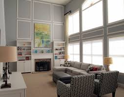 office chic family room decorating