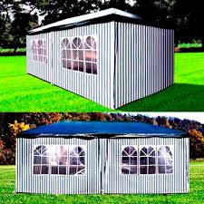 Садовый <b>шатер Афина AFM</b>-<b>1015 C</b> Blue-white (3х6) купить в ...