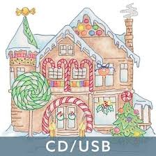 Gingerbread <b>Houses</b> (CD/<b>USB</b>)