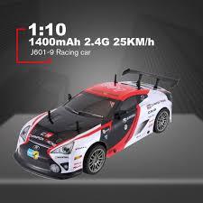 <b>J601</b>-9 1/10 1400mAh <b>2.4G</b> 25KM/h Racing Car RC Model Car Toys ...