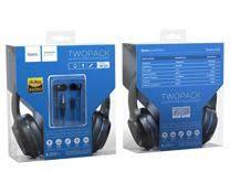 Проводные <b>наушники Hoco</b> M59 с микрофоном Черные купить в ...