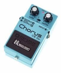 <b>Педали Chorus</b>/Flanger/Phaser <b>Boss CE</b>-<b>2w</b> купить в Санкт ...