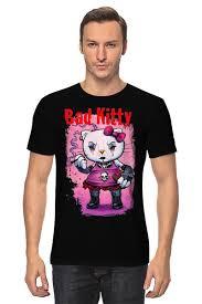 <b>Футболка классическая Bad</b> Kitty #1622330 от Leichenwagen по ...