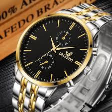 Men's <b>Wrist Watches</b> 2019 <b>Luxury Brand</b> Orlando Mens <b>Quartz</b> ...