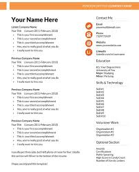 Microsoft Word Resume Template         Free Samples  Examples     Xdesigns net