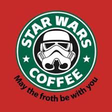 Stabilitees <b>Starwars Coffee May</b> the Froth Be With You Womens T ...