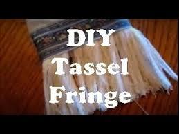 <b>DIY Tassel Fringe</b> - YouTube