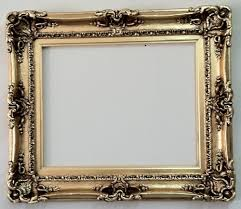 style wall mirror ornate frame