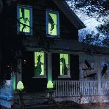 love halloween window decor:  a   sq