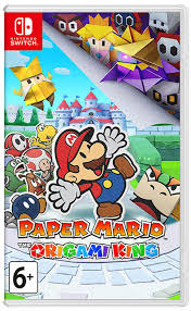 Купить <b>Paper</b> Mario: The Origami King [<b>Switch</b>] | PlayGames