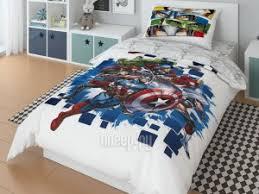 Купить <b>Marvel Avengers</b> To Battle Комплект 1.5 спальный 724731 ...