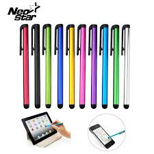 10pcs/lot Capacitive Touch Screen Stylus Pen For IPad Air Mini 2 3 ...