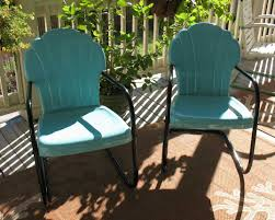retro metal patio furniture retro metal patio furniture with the striking combination turquoise and black colors apothecary style furniture patio