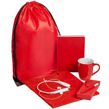 <b>Набор Welcome Kit</b>, <b>красный</b>, размер S - купить в Vertcomm