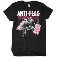 <b>Anti</b>-<b>Flag</b>: <b>American Spring</b> Black T-Shirt