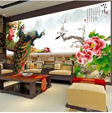 <b>Beibehang</b> 2019 New Landscape Flowers and Birds Blossoms ...