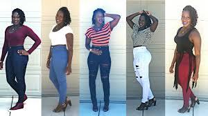 <b>Super High</b> Waist Jeans LOOKBOOK| Tall SLIMTHICK <b>Women</b> ...
