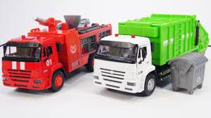 Пожарная и Мусоровоз - модели <b>Автопарк</b>, серия КАМАЗ - YouTube