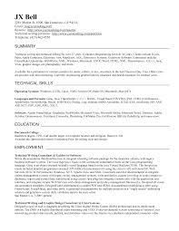 proposal writer resume technical writer resume summary jx bell technical writer resume doc by lovemacromastia jobresumepro com
