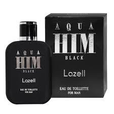 <b>Туалетная</b> вода Lazell Aqua HIM <b>Black for Men</b>