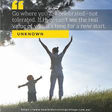 inpirational quotes that will make you want to change careers go where you are celebrated not tolerated if they can t see the real value of you it time for a new start unknown click to tweet