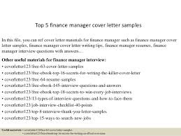 top 5 finance manager cover letter samples in this file you can ref cover letter financial cover letter examples