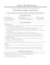 entry level project management resume experience resumes sample resume resume format for project manager management ideas