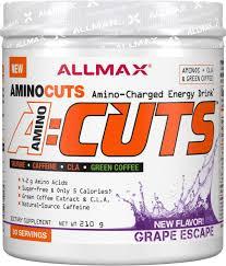 ALLMAX Nutrition <b>ACUTS Amino-Charged Energy Drink</b> Grape ...