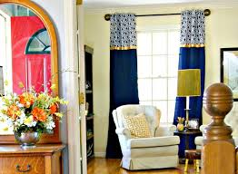 amazing tutorial for inexpensive no sew curtains diy window curtains for our home amazing diy home office