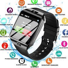 2019 New <b>Bluetooth Smart Watch DZ09</b> Smartwatch TF SIM Camera ...