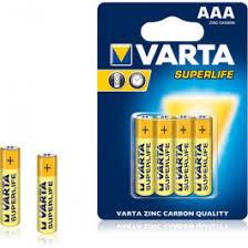 <b>Батарейки Varta</b> SUPERLIFE <b>AAA</b> BLI 4 ZINC-CARBON купить по ...