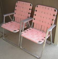 comfortable patio chairs aluminum chair: vintage aluminum folding  pink lawn chairs webbing patio camping matching pair home amp garden yard garden amp outdoor living patio amp garden furniture