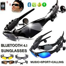 New Design <b>Bluetooth</b> 4.1 <b>Stereo</b> Sports Music Calling <b>Sunglasses</b> ...