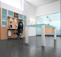 glass top office desk modern office furniture modern executive desk home office black glass office desk 1