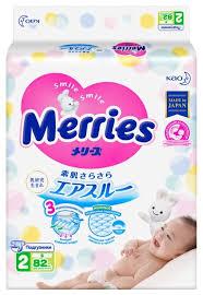 <b>Merries подгузники S</b> (<b>4</b>-<b>8 кг</b>) 82 шт. — купить и выбрать из более ...
